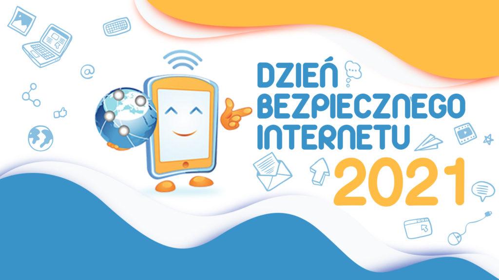 ilustracja promocyjna dzień bezpiecznego internetu 2021